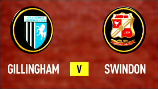 Gillingham v Swindon
