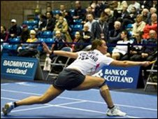 Susan Hughes (Pic by Badminton Scotland)