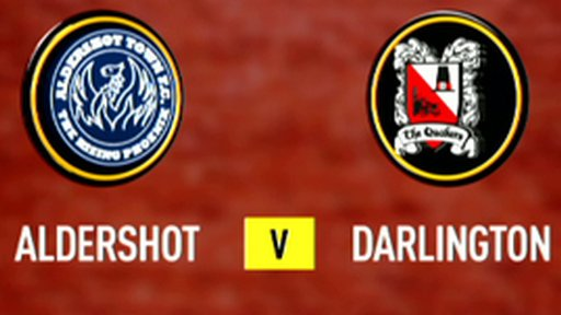 Highlights - Aldershot 3-1 Darlington