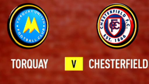 Highlights - Torquay 2-0 Chesterfield