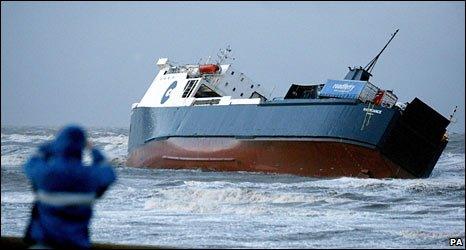 Riverdance cargo ship (PA)