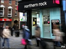 Northern Rock branch in Newcastle, 2007