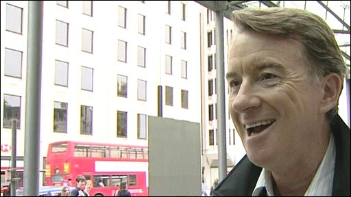 Peter Mandelson insists he is not in charge of Britain while Gordon Brown is on holiday