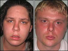 Tracey Connelly and Steven Barker