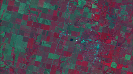 Agriculture in Kay County, Oklahoma (SSTL)