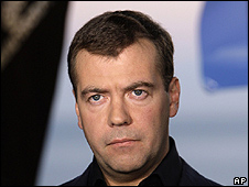 Russian President Dmitry Medvedev in videoblog, 11 Aug 09
