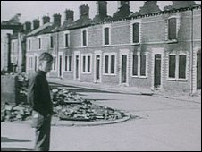 During August 1969, many homes were burnt out