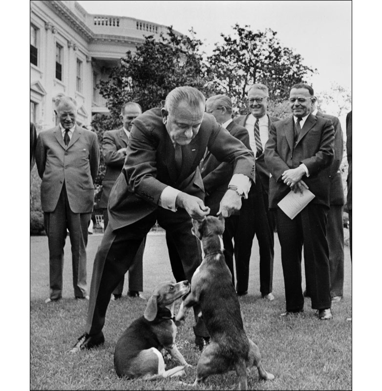 Lyndon B Johnson Time Dog Ears