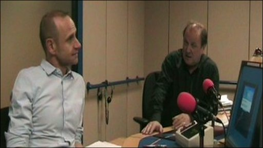 Evan Davis and Jim Naughtie