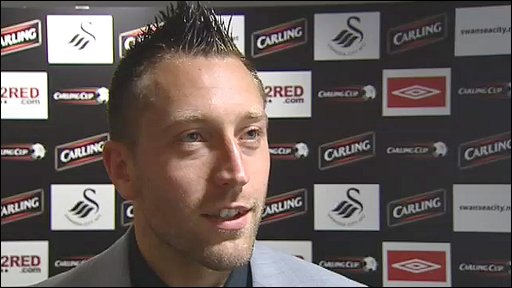Swansea City striker Stephen Dobbie