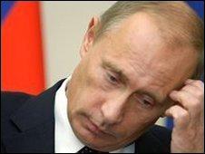 Vladimir Putin, file pic