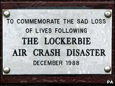 Lockerbie sign