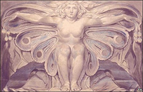 Design for Blair's Grave by William Blake