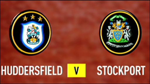 Huddersfield 3-1 Stockport