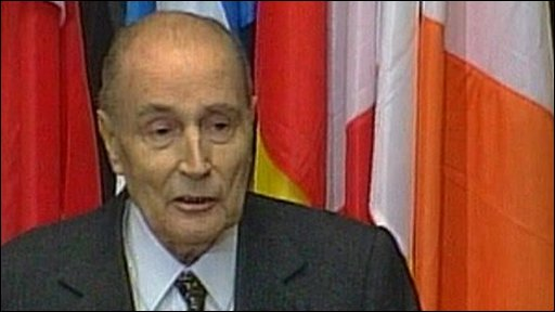 President Mitterrand warns about nationalism