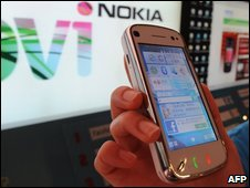 A Nokia mobile phone