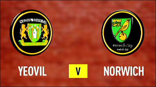 Highlights - Yeovil 0-4 Norwich (UK only)