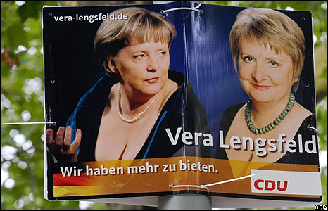 Controversial CDU election poster