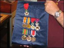 Harry Patch's medals