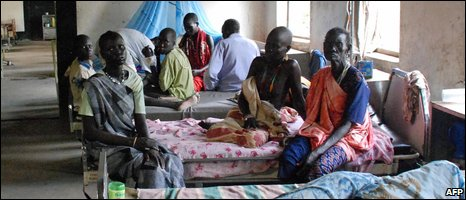 Patients in Akobo hospital