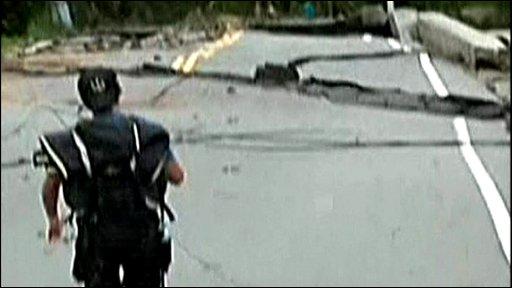 Taiwan damage