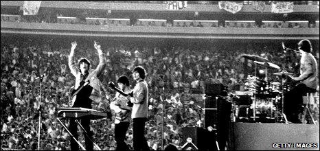 The Beatles at Shea Stadium, 1965
