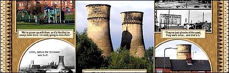 Tinsley Towers postcard