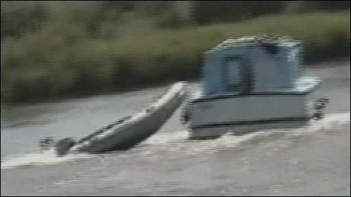 Boatman overboard