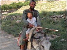 Qasim Jan and his son