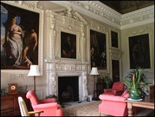 Inside Hawkstone Hall