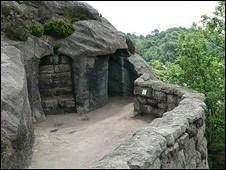Hawkstone Park grotto