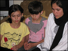 MP Fawzia Kofi and her children