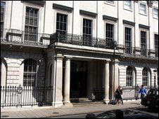 Abercrombie and Fitch in Savile Row