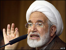 Mehdi Karroubi. Photo: May 2009