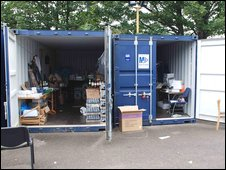 Business park containers