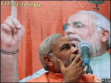 Gujarat Chief Minister Narendra Modi