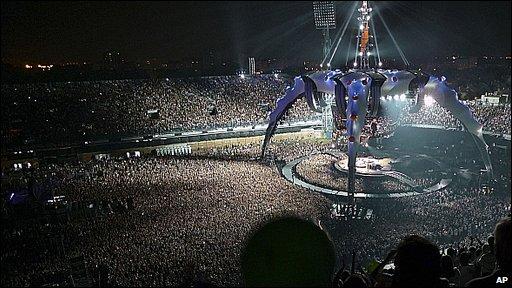 U2 in Zagreb