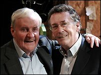 Richard Briers and Robert Powell