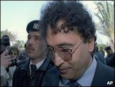 Convicted Lockerbie bomber Abdelbaset Ali Mohmed Al Megrahi