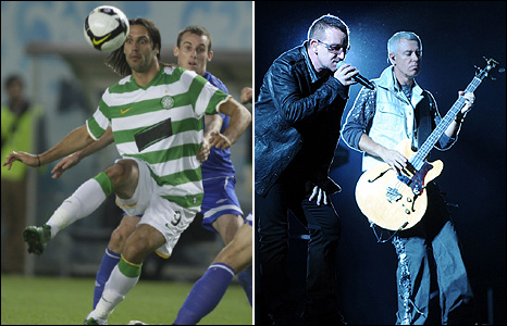 Celtic and U2