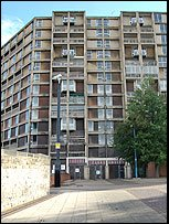 Park Hill flats, north end, November 2007