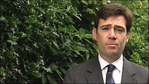 Andy Burnham says the NHS row is David Cameron's worst nightmare