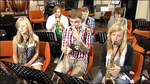 Brass band class
