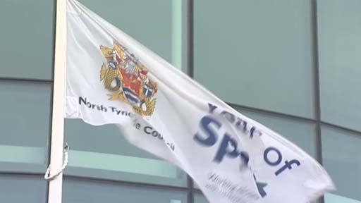 North Tyneside Council flag