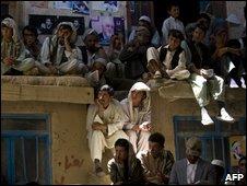 Supporters of Abdullah Abdullah