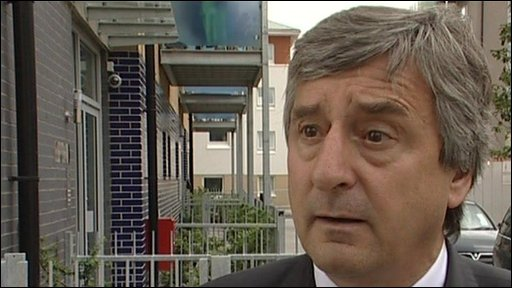 Jim Fitzpatrick said he was taking a stand against the Islamic Forum of Europe