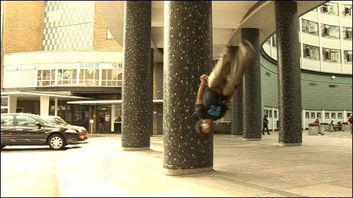 Freerunning at TVC