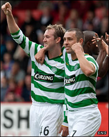 Aiden McGeady and Scott McDonald