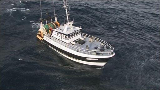 French fishing boat Cap Frehel