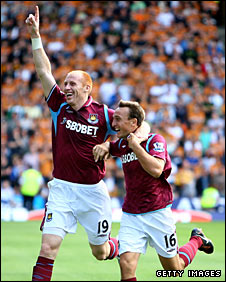 James Collins and Mark Noble